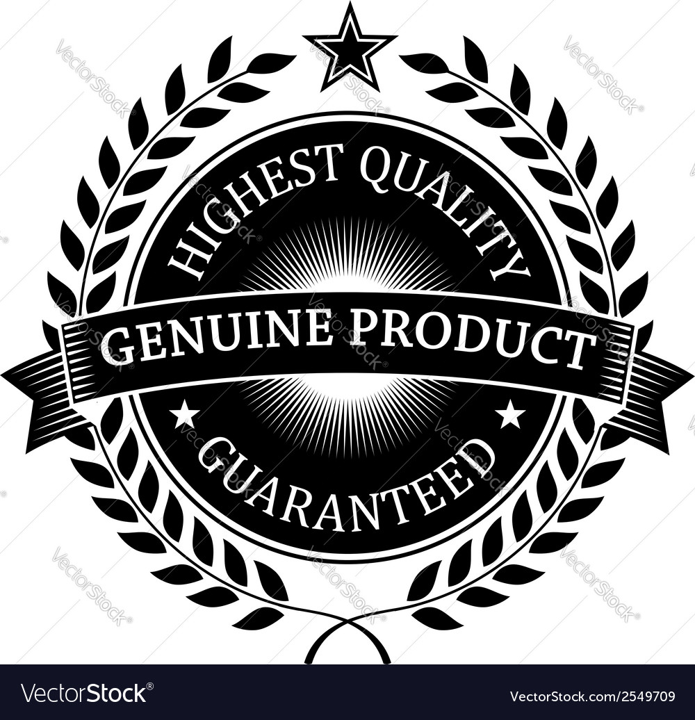 Highest quality guaranteed genuine label vector | Price: 1 Credit (USD $1)