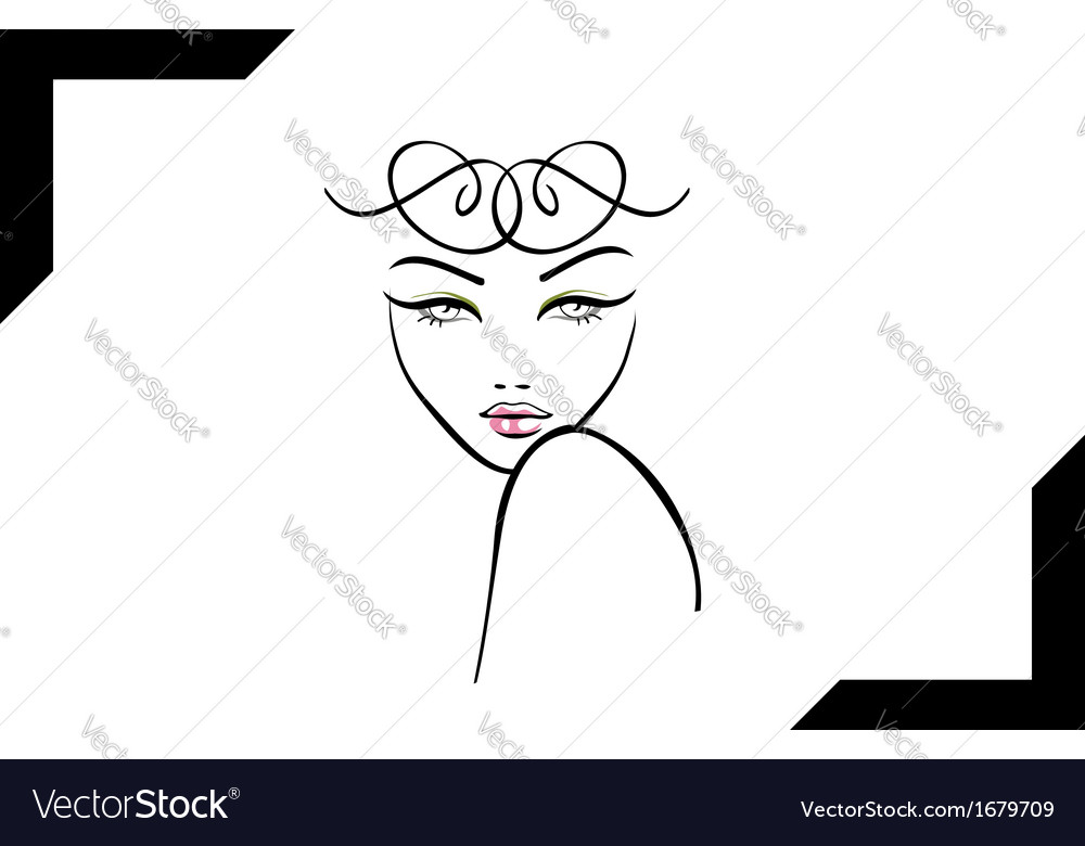 Model shoot- photography logo vector | Price: 1 Credit (USD $1)