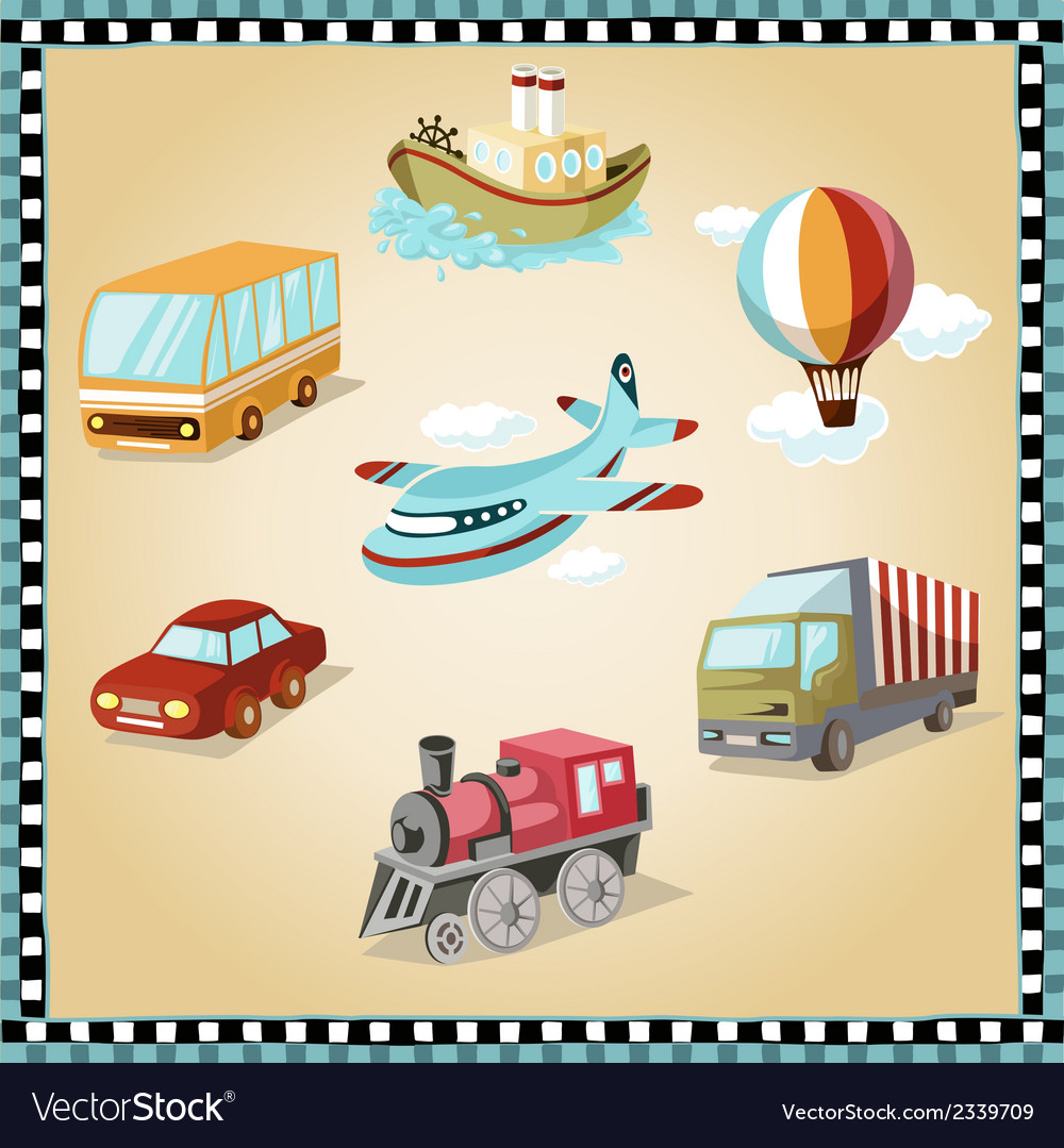 Transport facilities vector | Price: 1 Credit (USD $1)