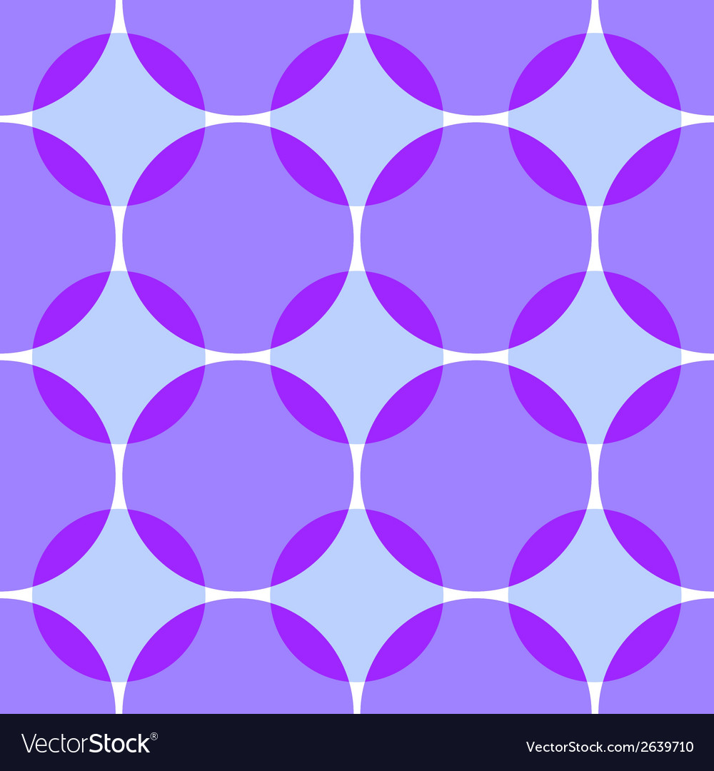 Colored intersecting circles seamless vector | Price: 1 Credit (USD $1)