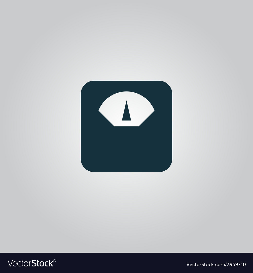Weighting apparatus icon vector | Price: 1 Credit (USD $1)