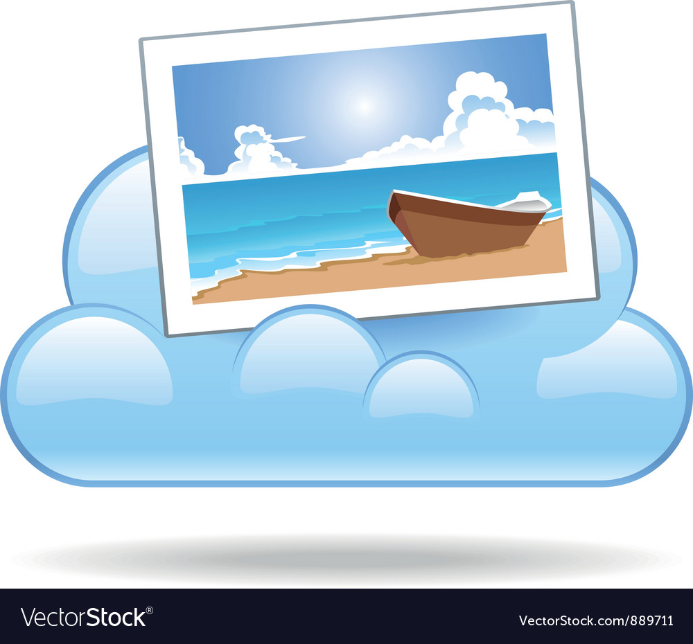 Cloud photo vector | Price: 1 Credit (USD $1)