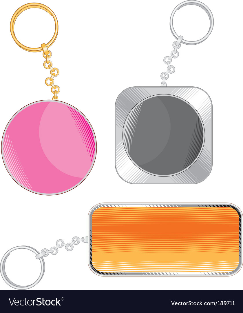 Key chain vector | Price: 1 Credit (USD $1)