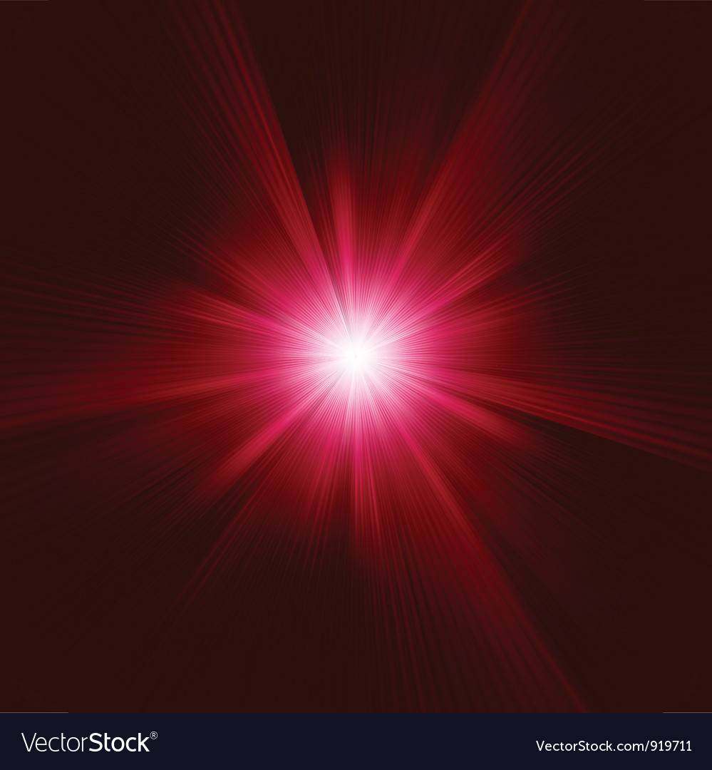 Red star burst background vector | Price: 1 Credit (USD $1)