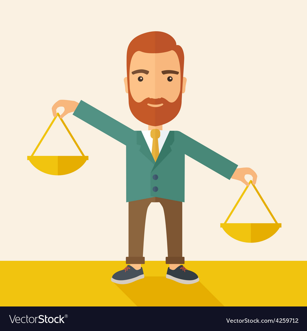 Balancing priorities vector | Price: 1 Credit (USD $1)