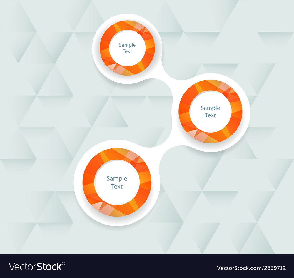 Colorful metaball round diagram infographics vector   Price: 1 Credit (USD $1)