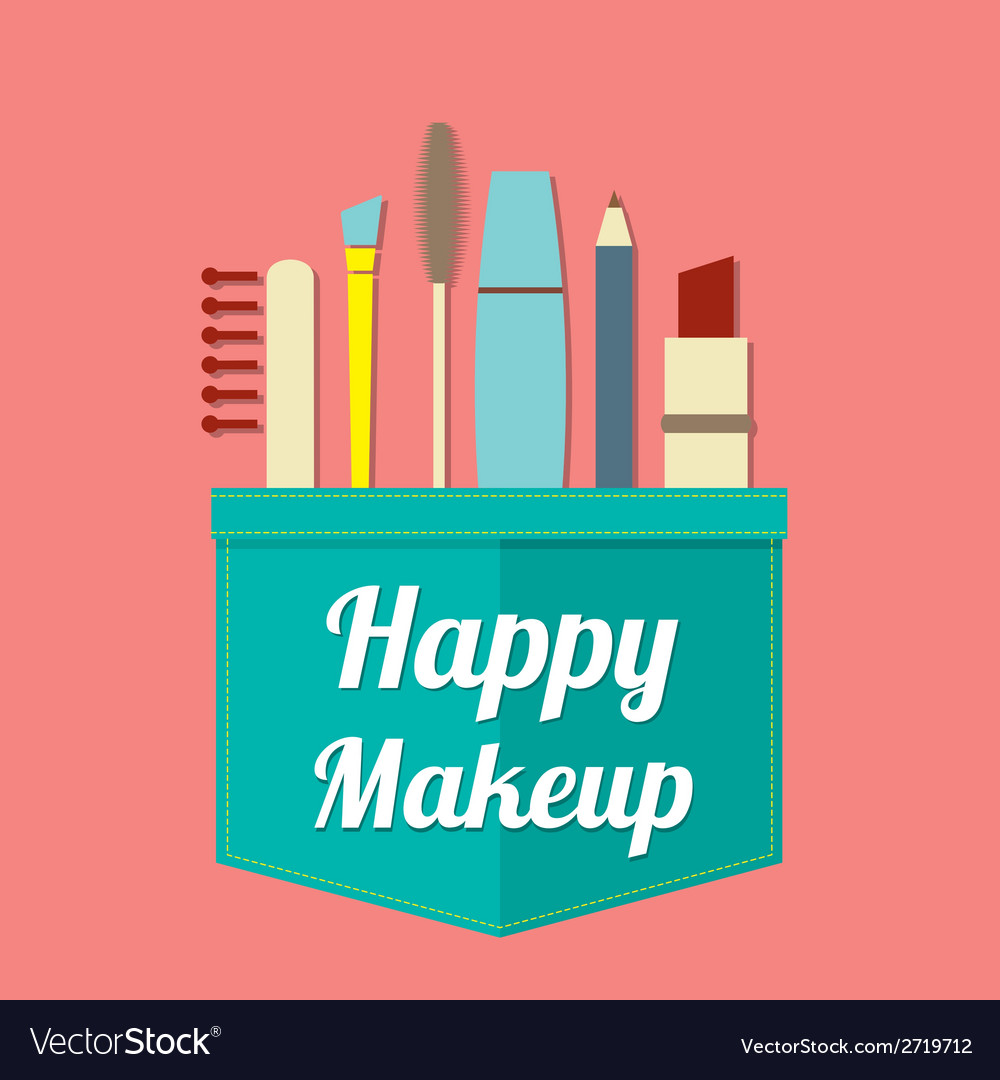 Happy beauty vector | Price: 1 Credit (USD $1)