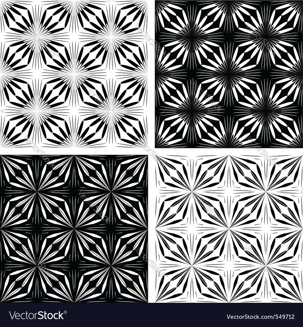 Seamless geometric patterns vector | Price: 1 Credit (USD $1)