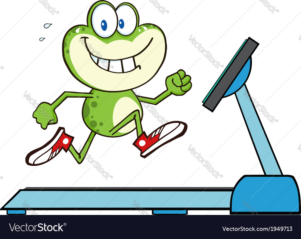 Cartoon frog vector | Price: 1 Credit (USD $1)