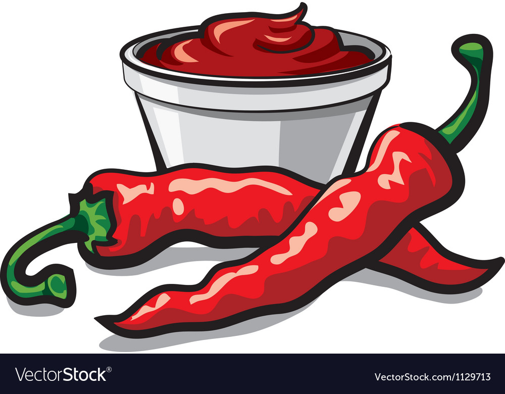 Chilly peppers vector | Price: 1 Credit (USD $1)