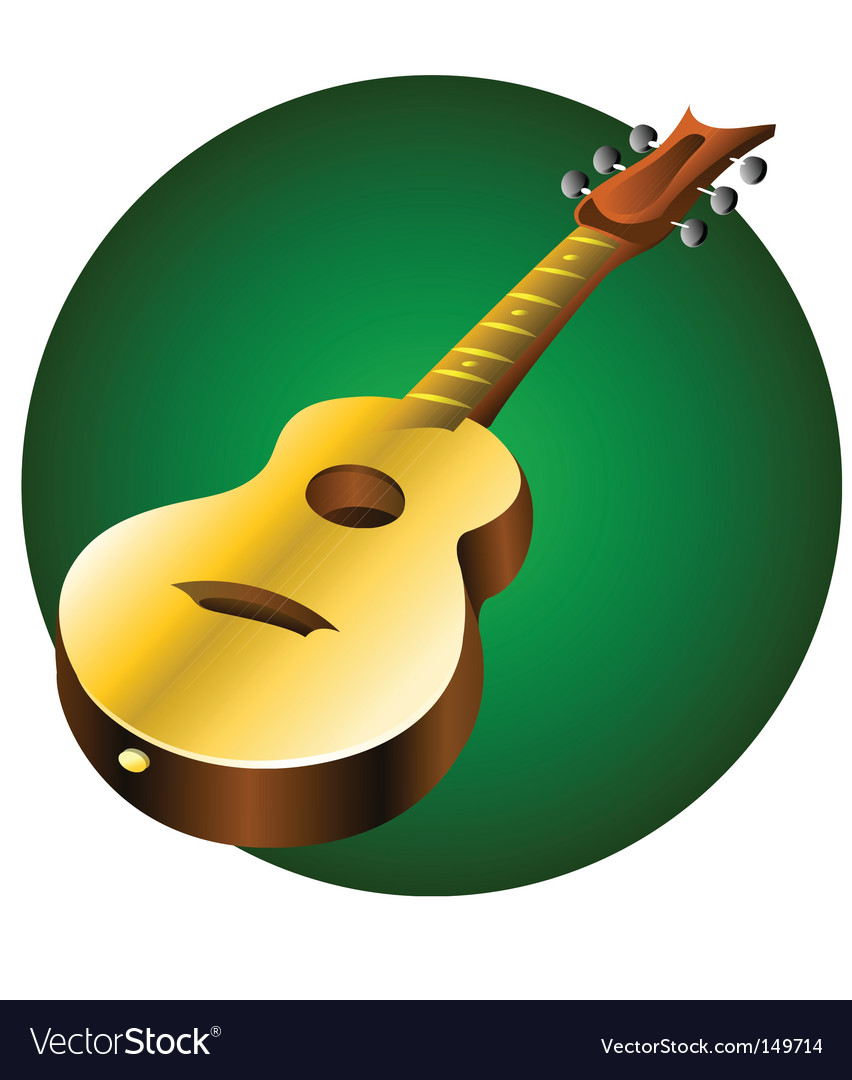 Guitar music instrument vector | Price: 1 Credit (USD $1)