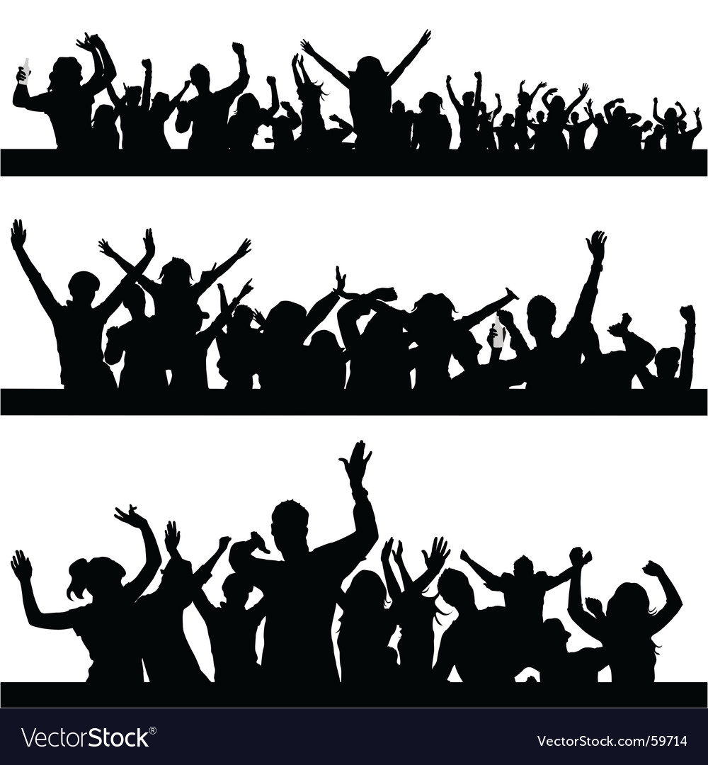 Party peoples vector | Price: 1 Credit (USD $1)