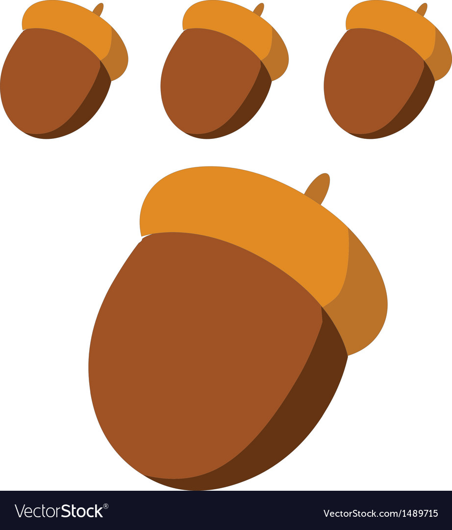 Chestnuts vector | Price: 1 Credit (USD $1)