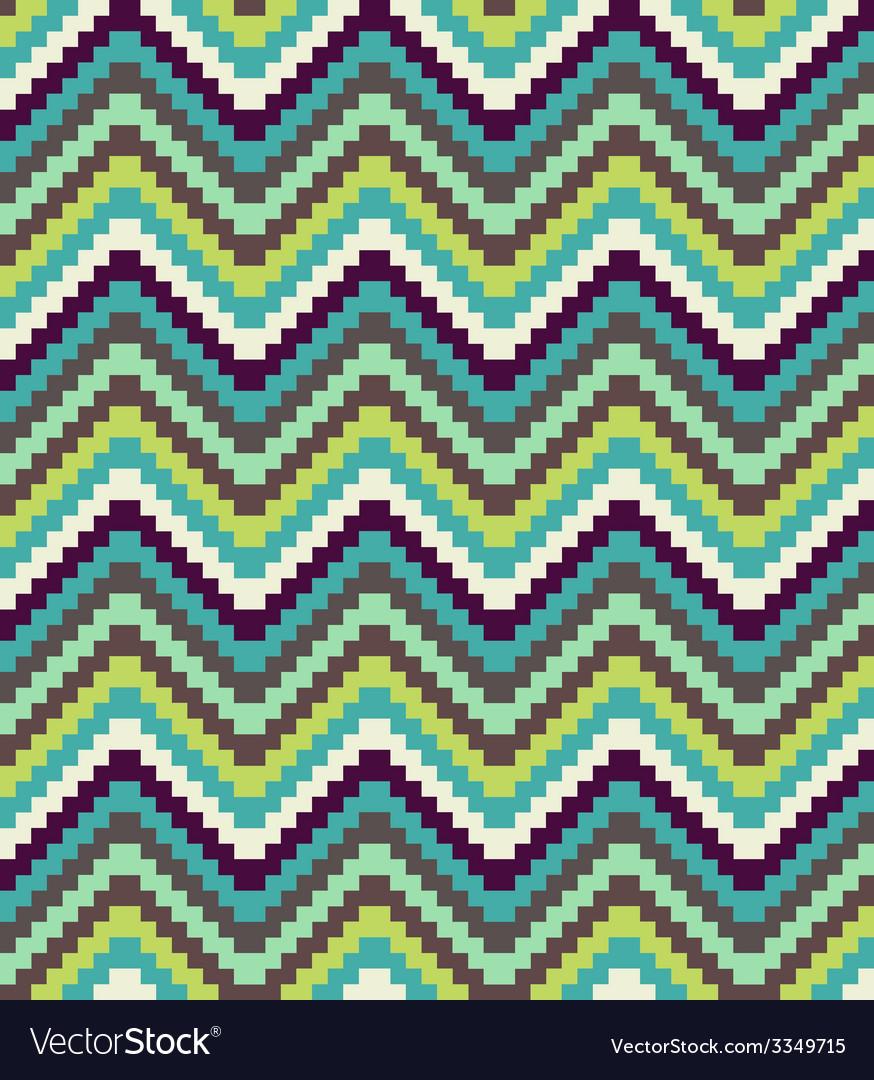 Ethnic geometric ornament pattern background vector   Price: 1 Credit (USD $1)