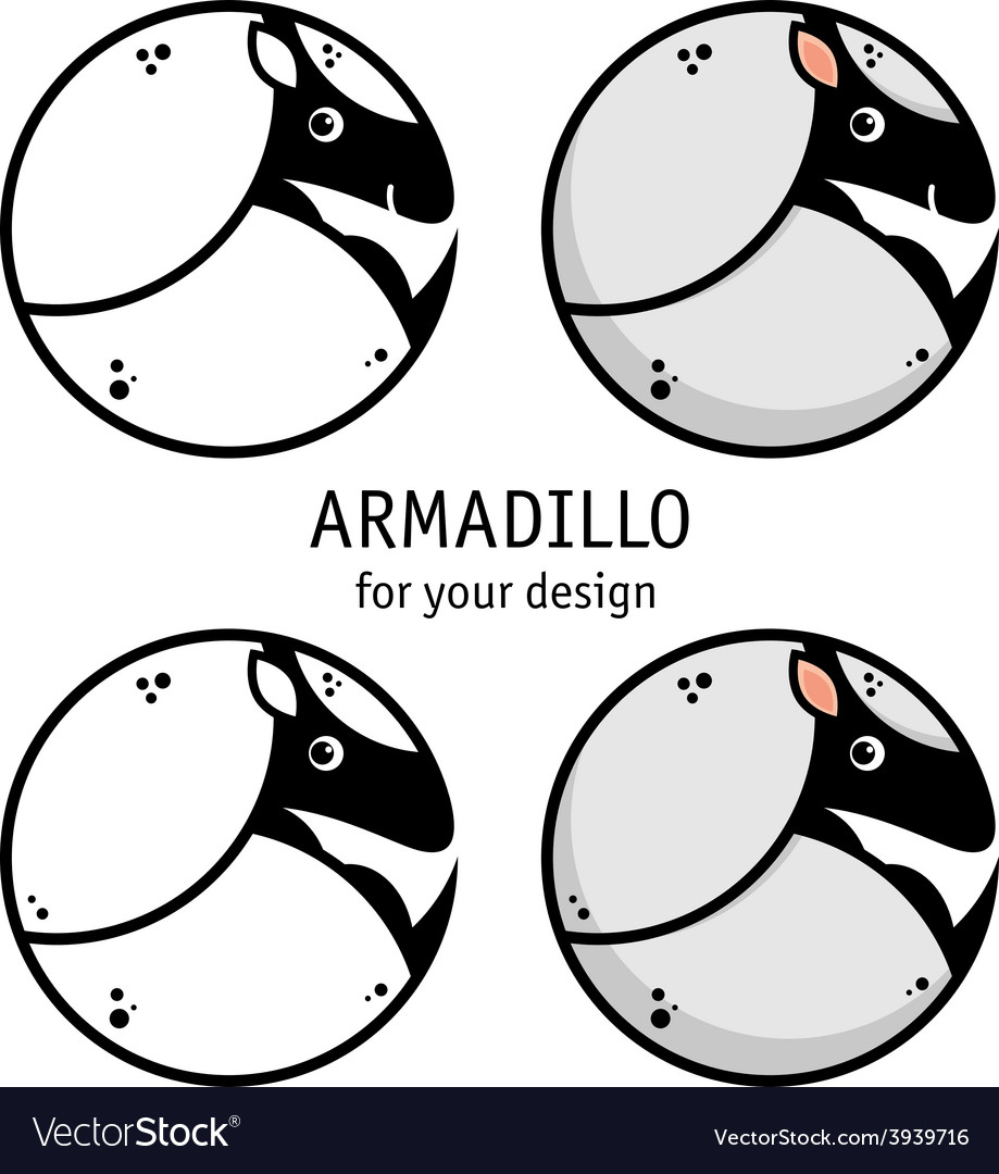 Armadillo icon vector | Price: 1 Credit (USD $1)