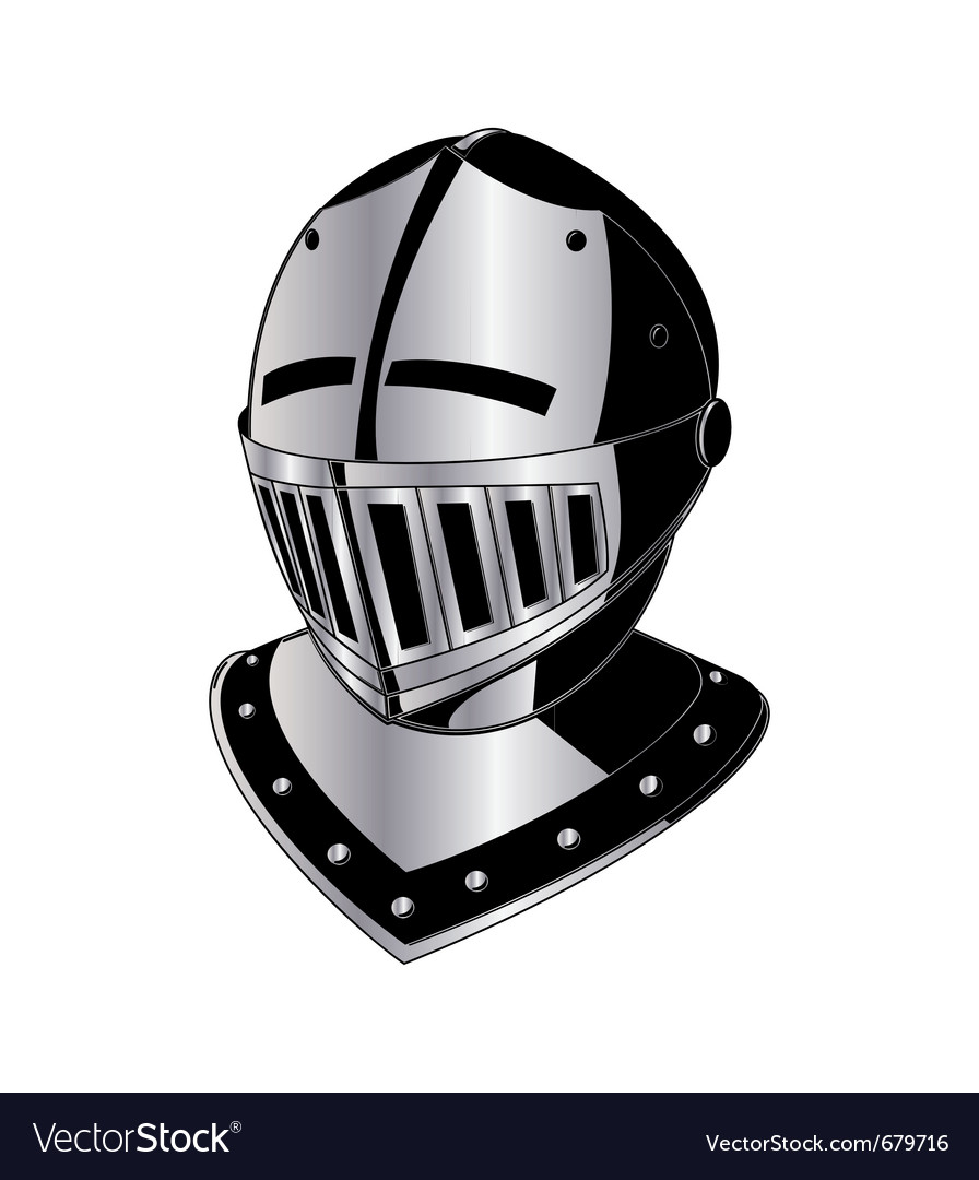 Gladiator helmet vector | Price: 1 Credit (USD $1)