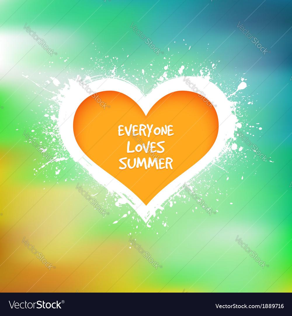 Grunge heart background vector | Price: 1 Credit (USD $1)
