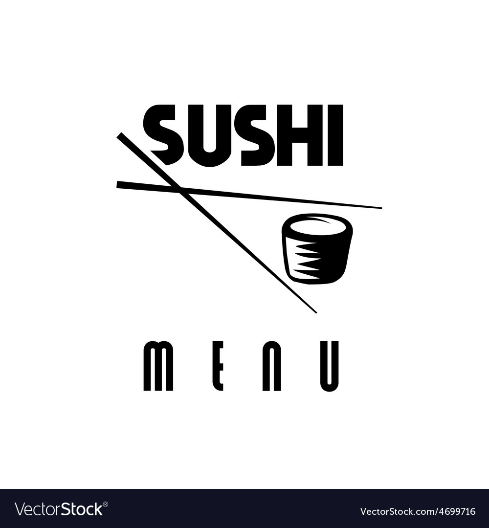 Suchi menu vector | Price: 1 Credit (USD $1)