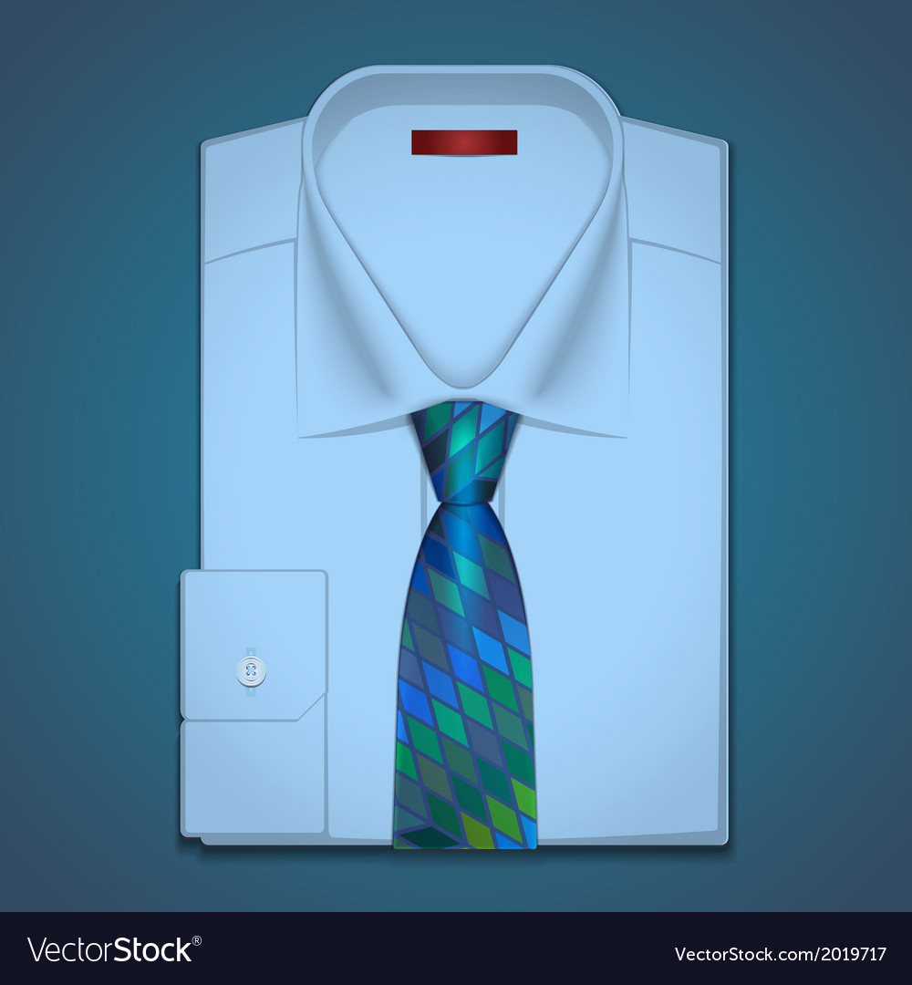 Classic shirt and tie vector | Price: 1 Credit (USD $1)