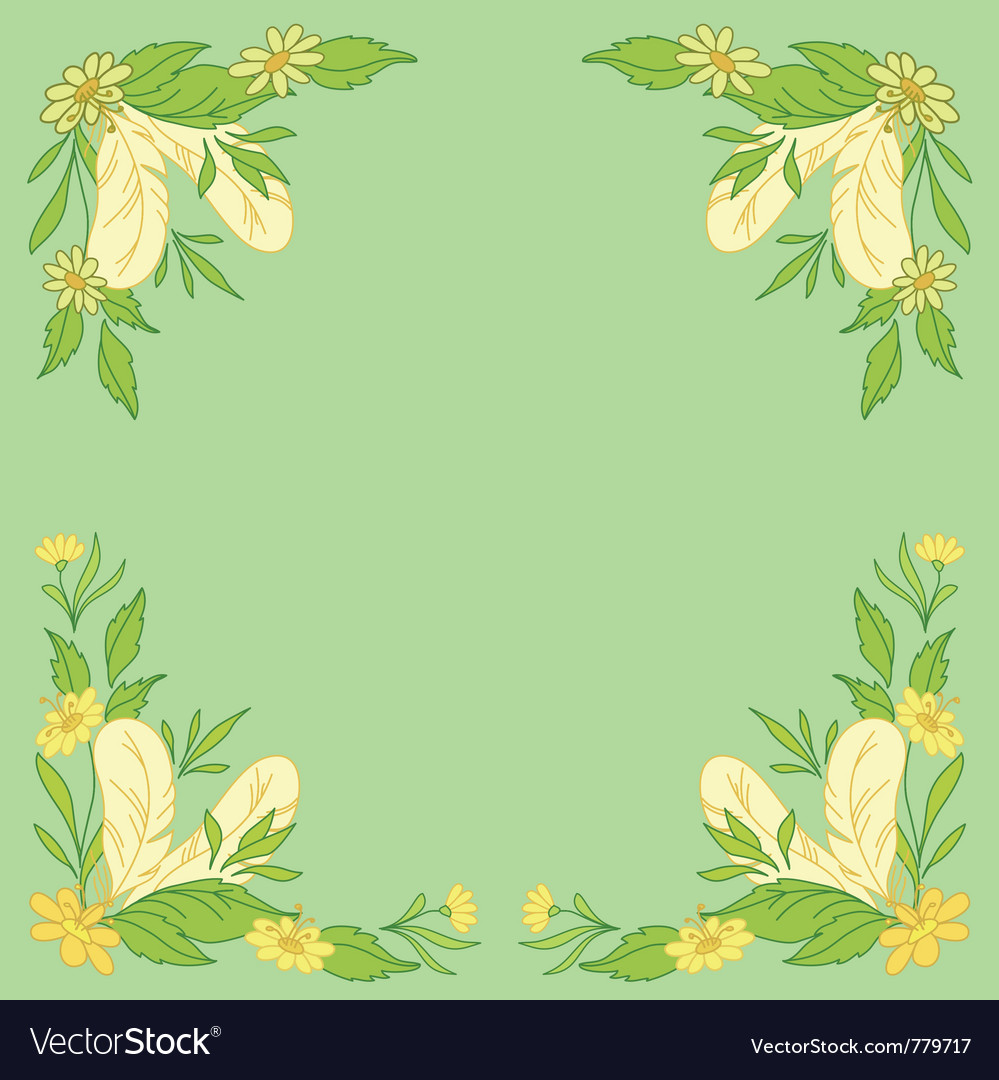 Leaves and feathers vector   Price: 1 Credit (USD $1)