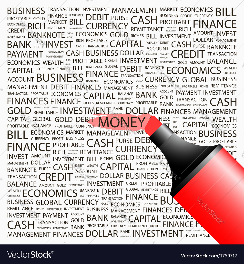 Money vector   Price: 1 Credit (USD $1)