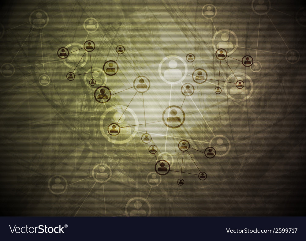 Tech grunge abstract background vector | Price: 1 Credit (USD $1)
