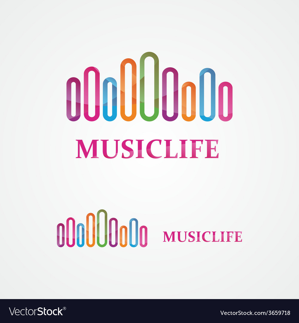 Music design template vector | Price: 1 Credit (USD $1)