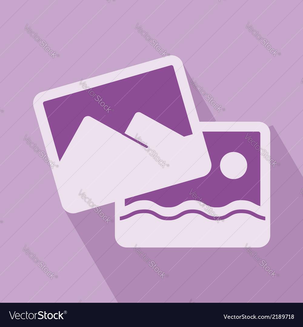 Picture icon vector | Price: 1 Credit (USD $1)