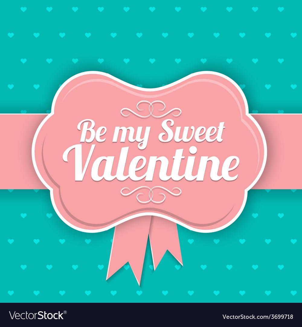 Saint valentine day background vector | Price: 1 Credit (USD $1)