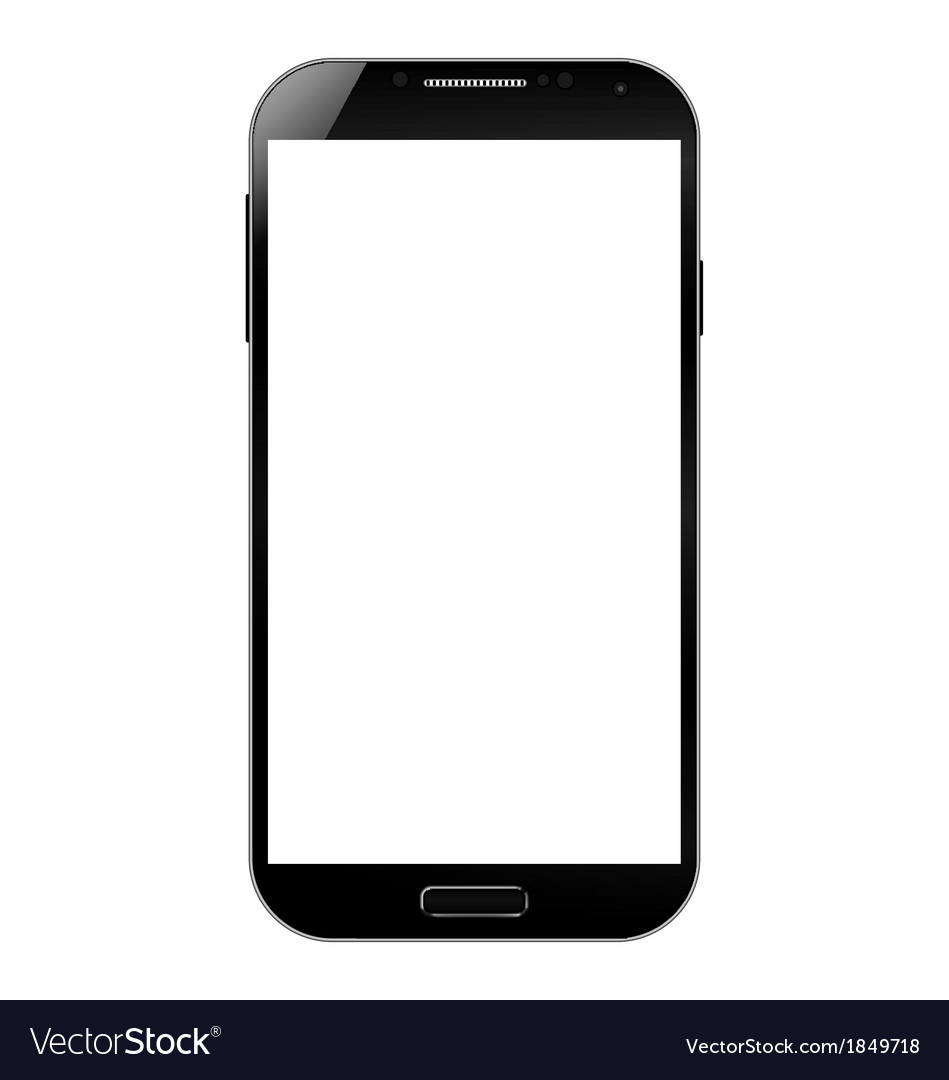 Smart phone mobile vector | Price: 1 Credit (USD $1)