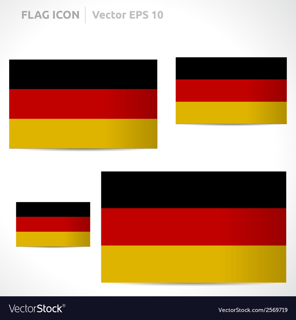 Germany flag template vector | Price: 1 Credit (USD $1)