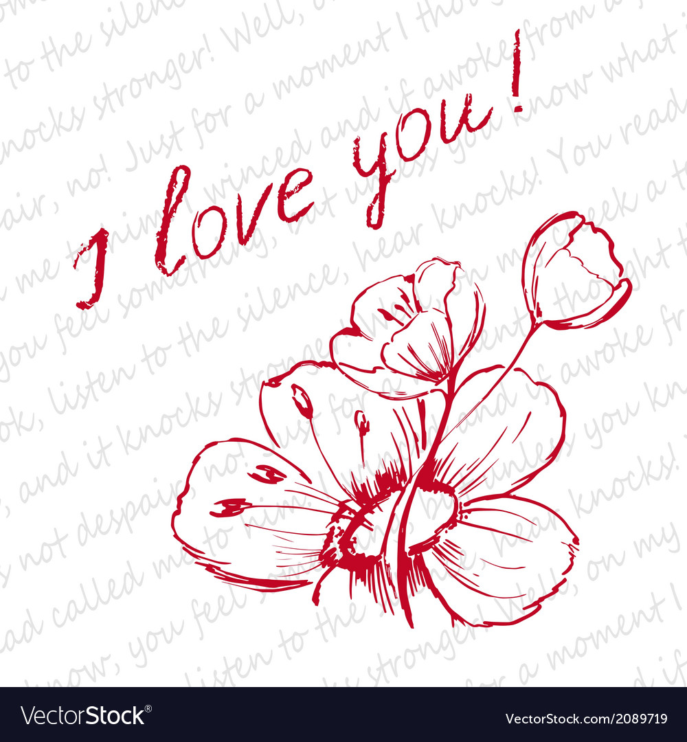 Love letter vector | Price: 1 Credit (USD $1)