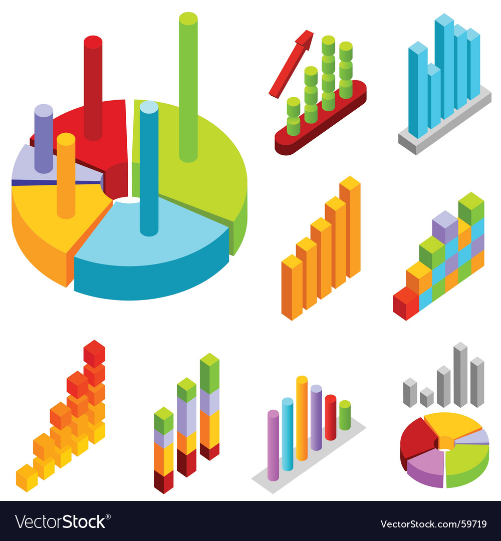 Statistic charts vector | Price: 1 Credit (USD $1)