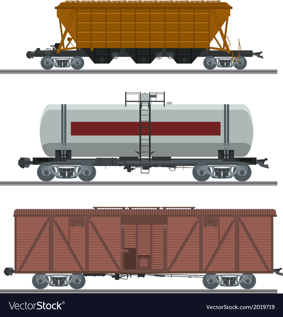 Waggons vector | Price: 1 Credit (USD $1)