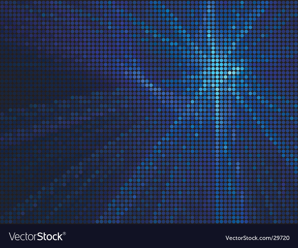 Abstract blue tiles background vector | Price: 1 Credit (USD $1)