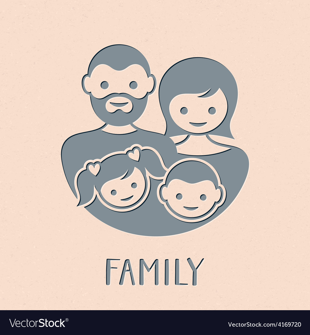 Family symbol vector | Price: 1 Credit (USD $1)