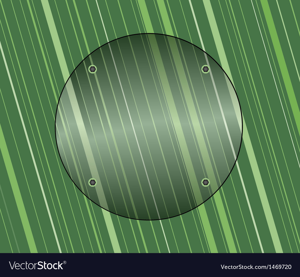 Glass on green background vector | Price: 1 Credit (USD $1)