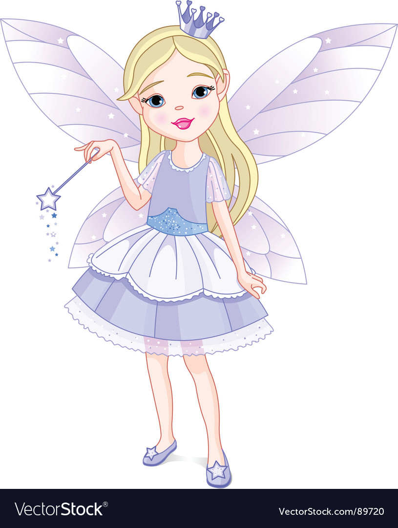 Little fairy vector | Price: 3 Credit (USD $3)