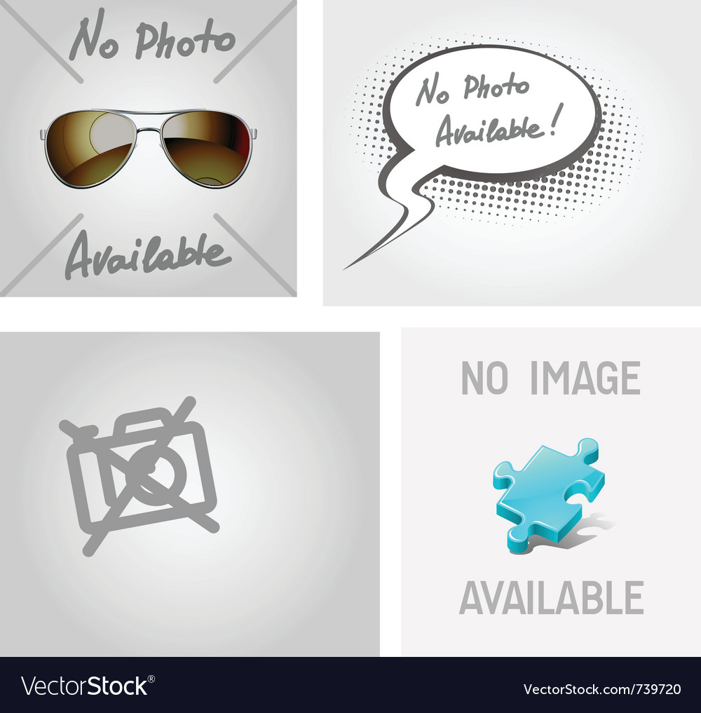 No image photo available vector | Price: 1 Credit (USD $1)