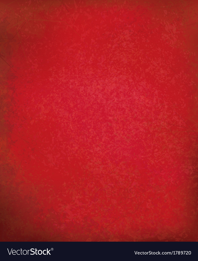 Red grunge background vector | Price: 1 Credit (USD $1)