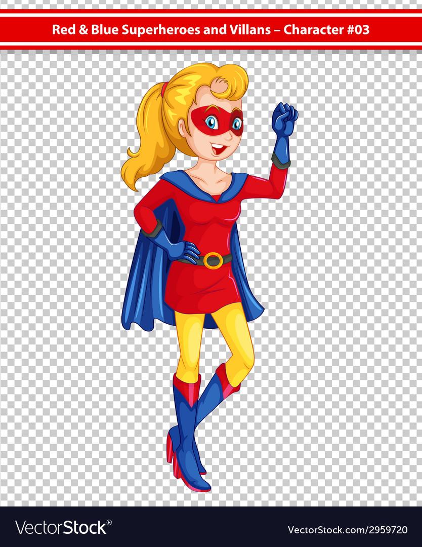 Superhero vector | Price: 1 Credit (USD $1)