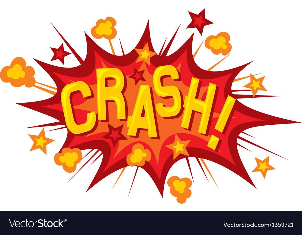 Cartoon - crash vector | Price: 1 Credit (USD $1)