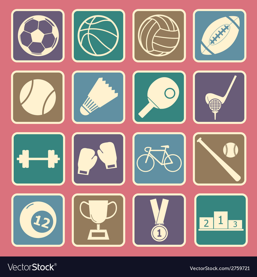 Sport icon vector | Price: 1 Credit (USD $1)