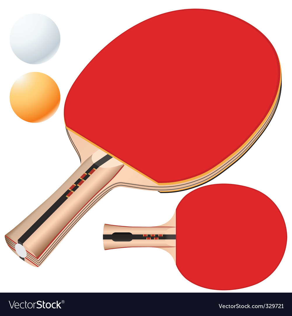 table tennis equipment vector | Price: 1 Credit (USD $1)