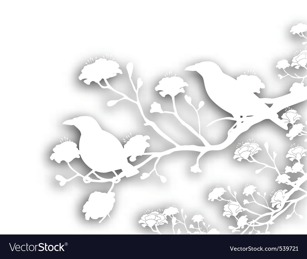 Wild birds cutout vector | Price: 1 Credit (USD $1)
