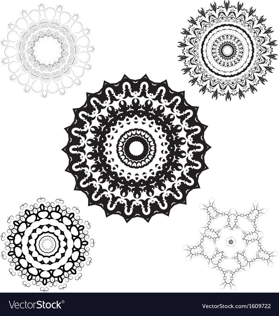 Creative design elements and ornaments vector | Price: 1 Credit (USD $1)