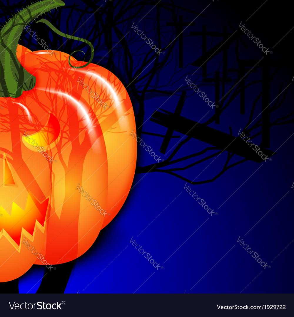 Halloween and pumpkin vector | Price: 1 Credit (USD $1)