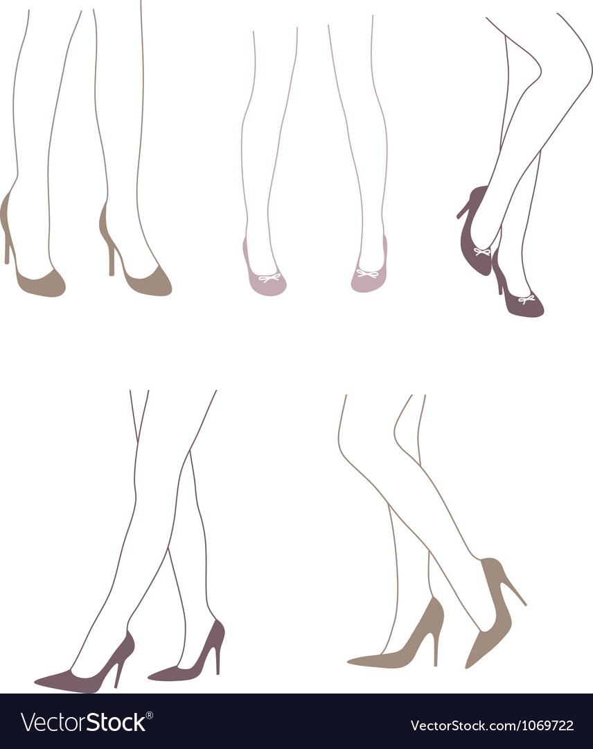 Legs 2 vector | Price: 1 Credit (USD $1)