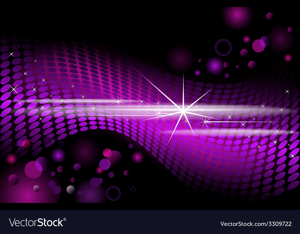 Purple disco background background vector | Price: 1 Credit (USD $1)