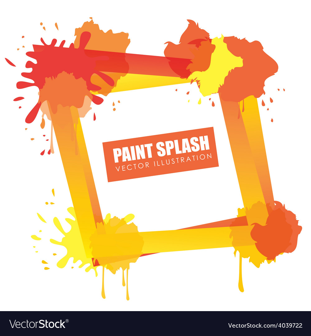 Splash design vector | Price: 1 Credit (USD $1)